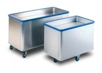 Wózek aluminiowy z ruchomym dnem CAL